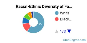 Racial-Ethnic Diversity of Family, Consumer & Human Sciences Students with Master's Degrees