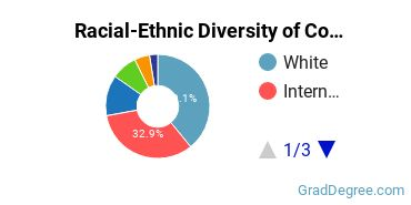 Racial-Ethnic Diversity of Comparative Literature Students with Master's Degrees