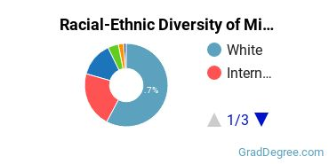 Racial-Ethnic Diversity of Middle Eastern Semitic Languages Students with Master's Degrees