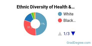 Health/Medical Admin Services Majors in MN Ethnic Diversity Statistics