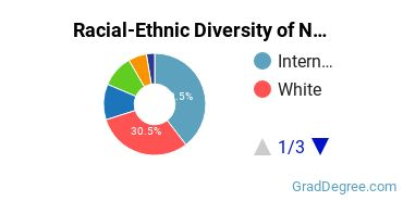 Racial-Ethnic Diversity of Non-Professional General Legal Studies Students with Master's Degrees