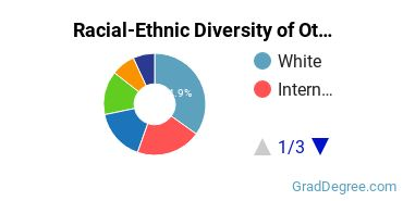 Racial-Ethnic Diversity of Other Legal Professions Students with Master's Degrees