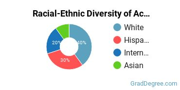 Racial-Ethnic Diversity of Accounting & CompSci Students with Master's Degrees