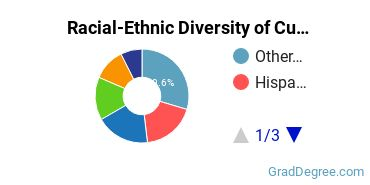 Racial-Ethnic Diversity of Culture Studies Students with Master's Degrees