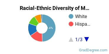 Racial-Ethnic Diversity of Multiculturalism Students with Master's Degrees
