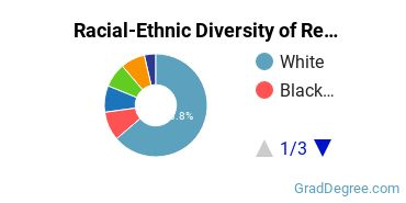 Racial-Ethnic Diversity of Religion Students with Master's Degrees