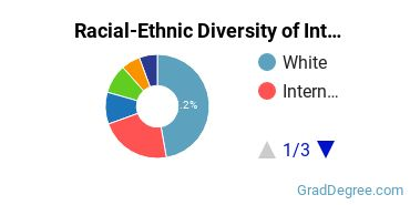 Racial-Ethnic Diversity of International Relations Students with Master's Degrees