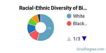 Racial-Ethnic Diversity of Bible Students with Master's Degrees