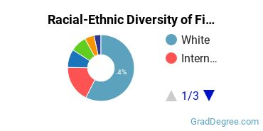 Racial-Ethnic Diversity of Fine Arts Students with Master's Degrees