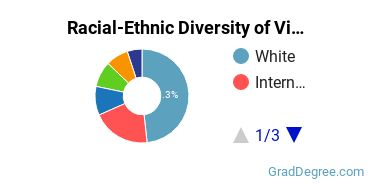 Racial-Ethnic Diversity of Visual Arts Students with Master's Degrees