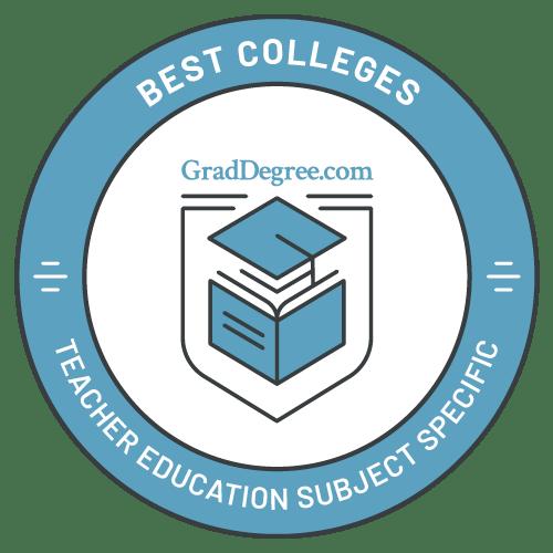 Top Schools in Subject Specific Ed