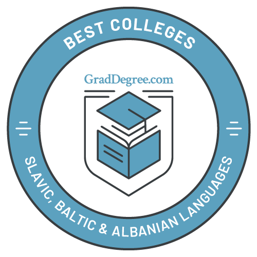 Top Schools in Slavic, Baltic & Albanian