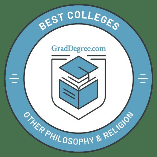 Top Schools in Other Philosophy & Religious Studies
