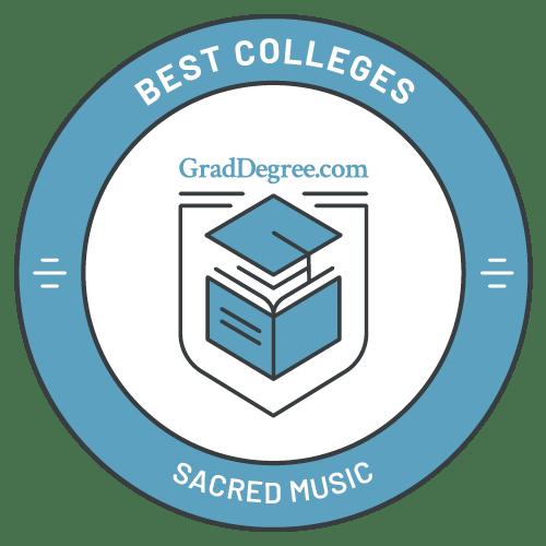Top Schools in Sacred Music