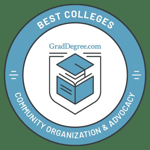 Top Schools in Community Organization