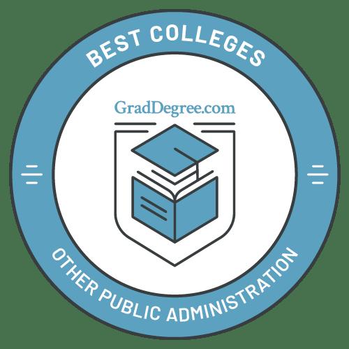 Top Schools in Other Public Admin
