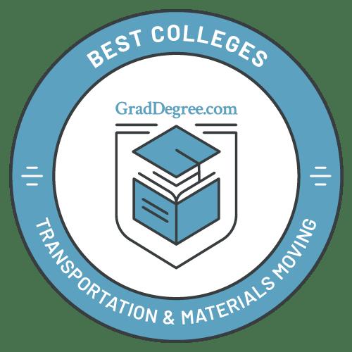 Top Schools in Transportation & Materials Moving