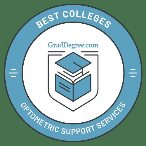 Top Schools in Optometric Support